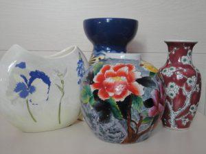 Les vases décorés : un casse-tête ?