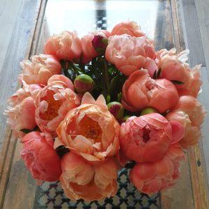 Les métamorphoses d'un bouquet d'anniversaire.