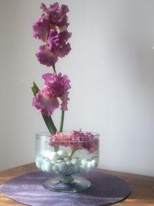 Bouquets irisés