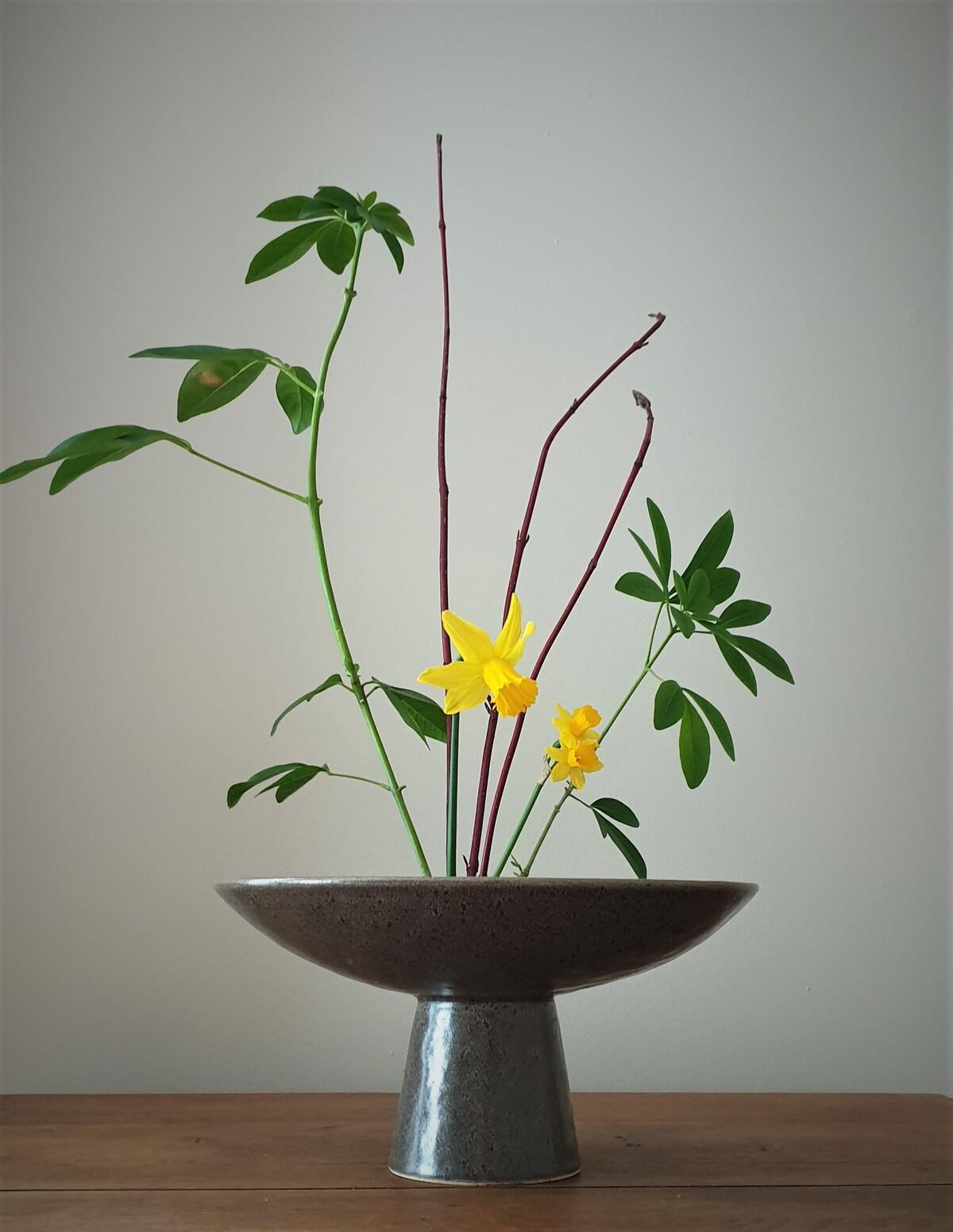 bouquet jaune